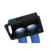 Skrzynka wentylacyjna, rozprężna SLIM M5 SPIDERvent pod kratkę wentylacyjną, wys.92mm, nr kat. *25