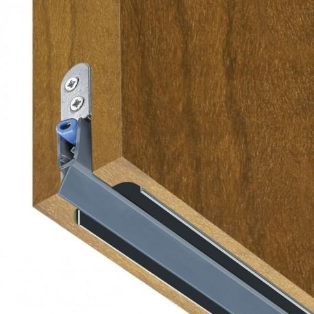 Listwa wentylacyjna drzwiowa, akustyczna DOORvent 23dB S standard, opadająca